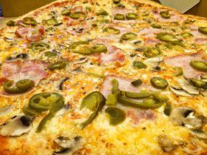 pizza Jumbo pikantna