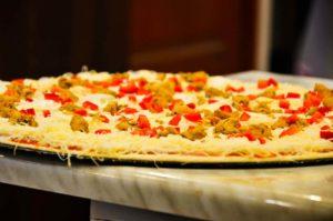pizza przed włożeniem do pieca
